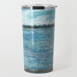Bayside Oil Pastel Drawing 1 Travel Mug