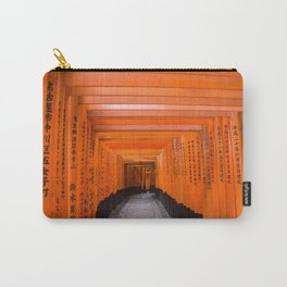 Japan Travel Photo - Fushimi Inari Shrine Carry-All Pouch