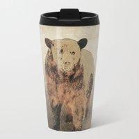 2001 Travel Mugs featuring Formosan Black Bear by Nirvana.K