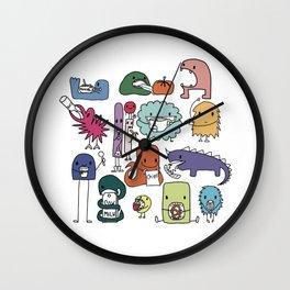 Monster Munch Wall Clock