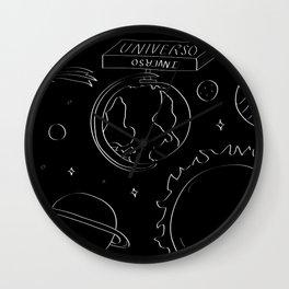Universo Inverso Wall Clock