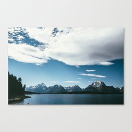 Jackson Hole Waters Canvas Print