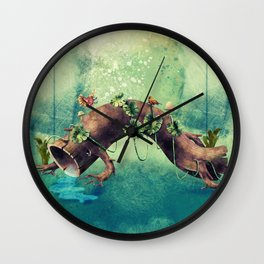 Forest Creature Wall Clock