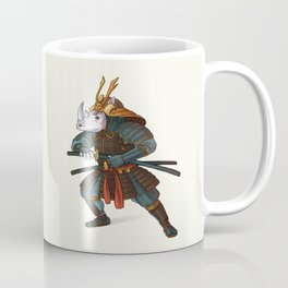 Rhino - Samurai Coffee Mug