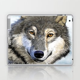 Eyes of the Wolf Laptop & iPad Skin