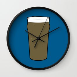 Beer Glasses (Pint) Wall Clock