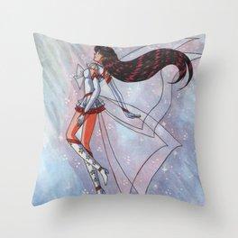Super Cosmic Sailor Mars Throw Pillow
