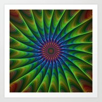 fractal Art Prints featuring Fractal by David Zydd - Colorful Mandalas & Abstrac