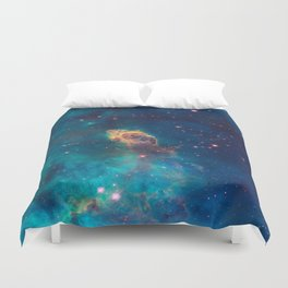 Space Nebula, A View of Astronomy, Stars, Galaxy, and Outer space  Duvet Cover