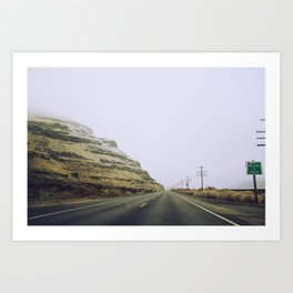 Welcome to Oregon Art Print