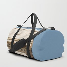 Intersecting Lines - Architecture Minimal Print Duffle Bag