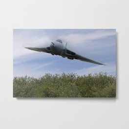 Low level Vulcan Metal Print