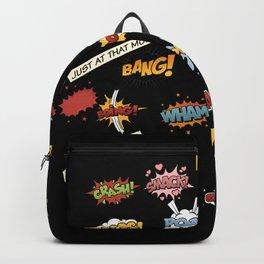 Superhero Wham! Backpack