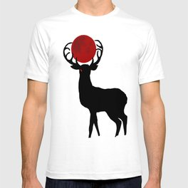 Nightmare Stag and the Blood Moon T-shirt