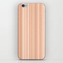 Cedar Wood Texture iPhone Skin