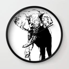 Elephant - M Wall Clock