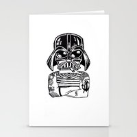 sith Stationery Cards featuring Sith Life by Finah Ehsan