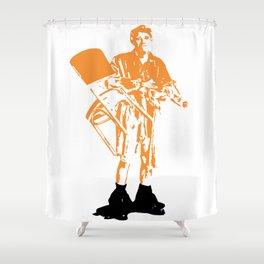 Jerk Shower Curtain