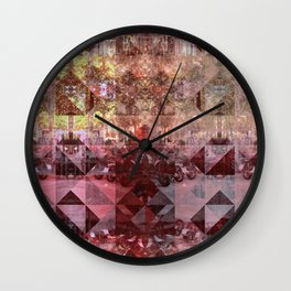 Wednesday 12 June 2013: Equals and/or opposites force collision/collusion. Wall Clock