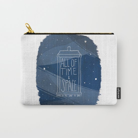All Of Time And Space Carry-All Pouch