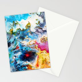Abstract Melt VII Stationery Cards