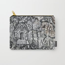 ' Templez Ov The Minde ' By: Matthew Crispell Carry-All Pouch