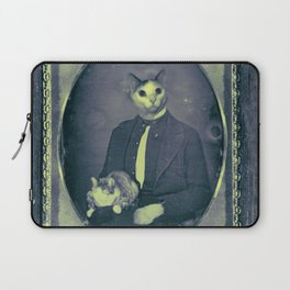 Cat and cat and the Civil War Laptop Sleeve