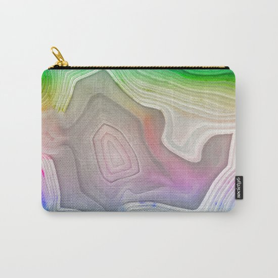 MINERAL RAINBOW Carry-All Pouch