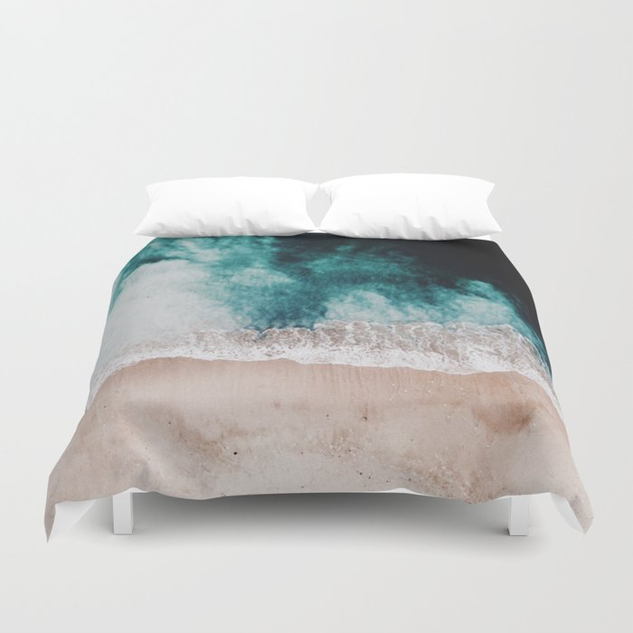 queen covers blue brown home product cotton aqua design and waters duvet cover contemporary sets ocean rosie
