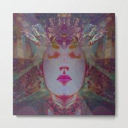 Holographic Queen Metal Print