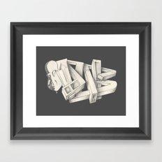 DUBSKETCH Framed Art Print