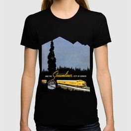 Union Pacific Train poster 1936 - Retouched Version T-shirt
