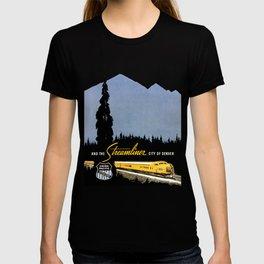Union Pacific Train poster 1936 - Retouched Version T-shirt