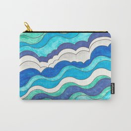 Make Waves II Carry-All Pouch