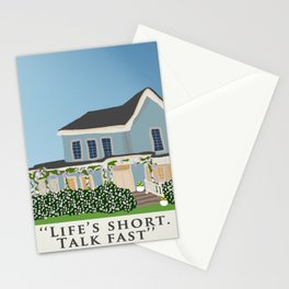 Gilmore house in spring Stationery Cards