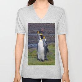 King Penguins Unisex V-Neck