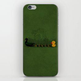 Rubber Duckling iPhone Skin