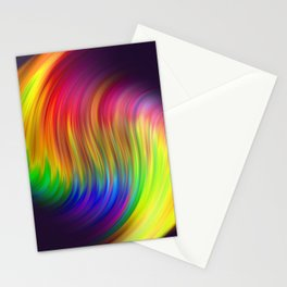 #15 Soft Fluid Animation. Twisted gradient abstract wavy twirl background 3D. Fractal geometric motion. Patterns motion background with Titles. Logo banner. Oblique and straight lines.   Stationery Cards