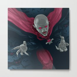 Lords of the Night Metal Print