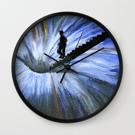 Into the Unknown Wall Clock