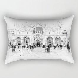 Piazza San Marco, Venice (Italy) Rectangular Pillow