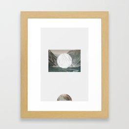 A fine circle Framed Art Print