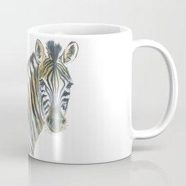 Zebra and Birds Coffee Mug