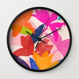 lily 16 Wall Clock