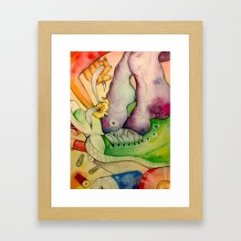 Untied Framed Art Print