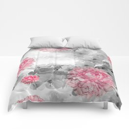 ROSES PINK WITH CHERRY BLOSSOMS Comforters