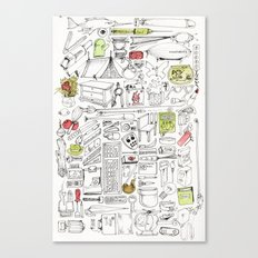 Everything You Need Canvas Print