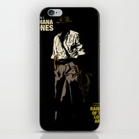 indiana jones iPhone & iPod Skins featuring Indiana Jones: Raiders of the Lost Ark by Jamesy