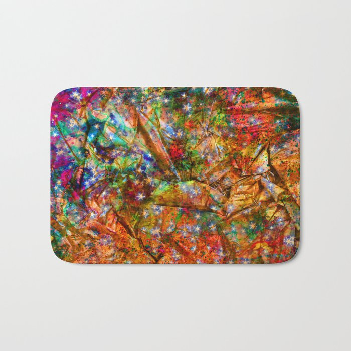 gift wrapping paper Bath Mat