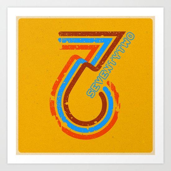seventytwo''72 Art Print